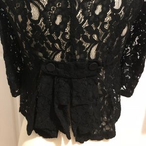 Forever21 lace blazer